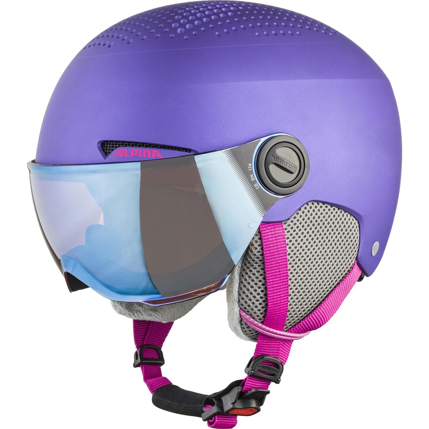 ALPINA Zupo Visor violet matt 54-58