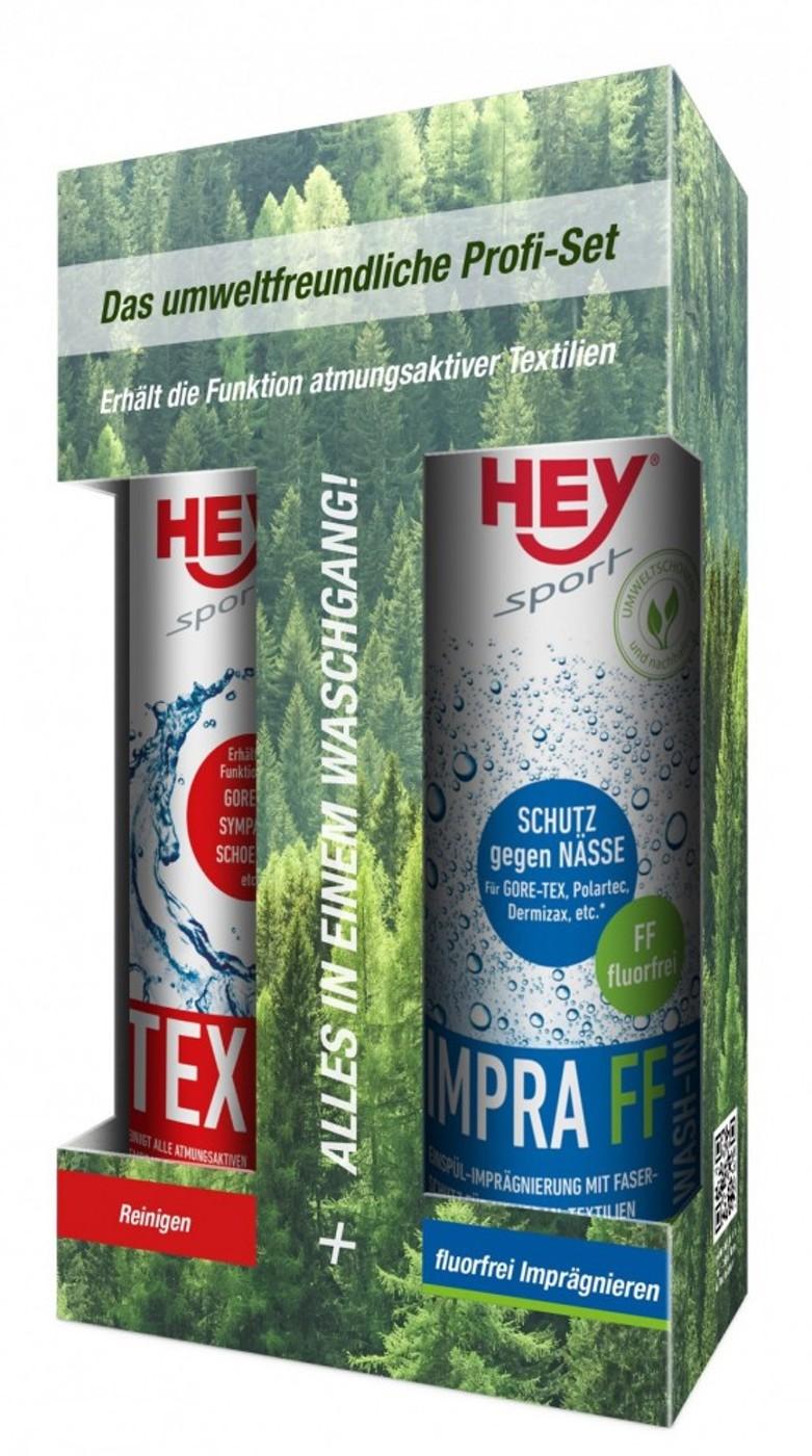 HEY Tex Wash & Impra FF Wash 2x250