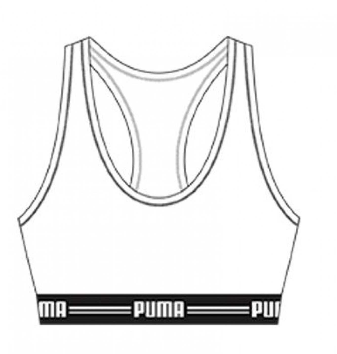 Puma Racer Back Top - Damen
