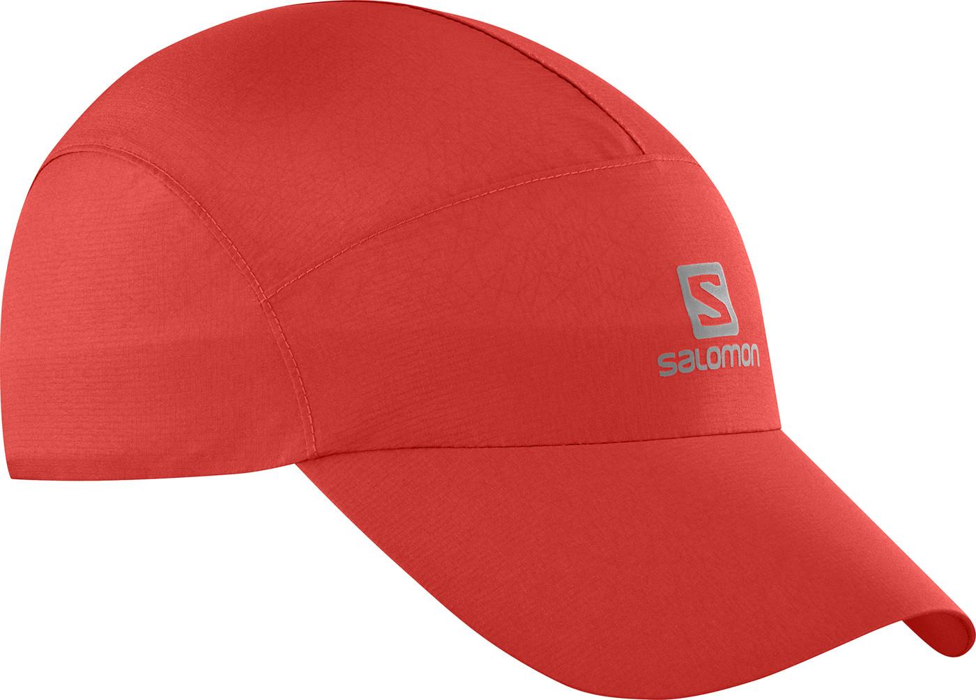 SALOMON CAP WATERPROOF CAP Goji Berry/Goji Berry OSFA - Herren