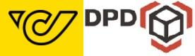 Versand per Post/DPD