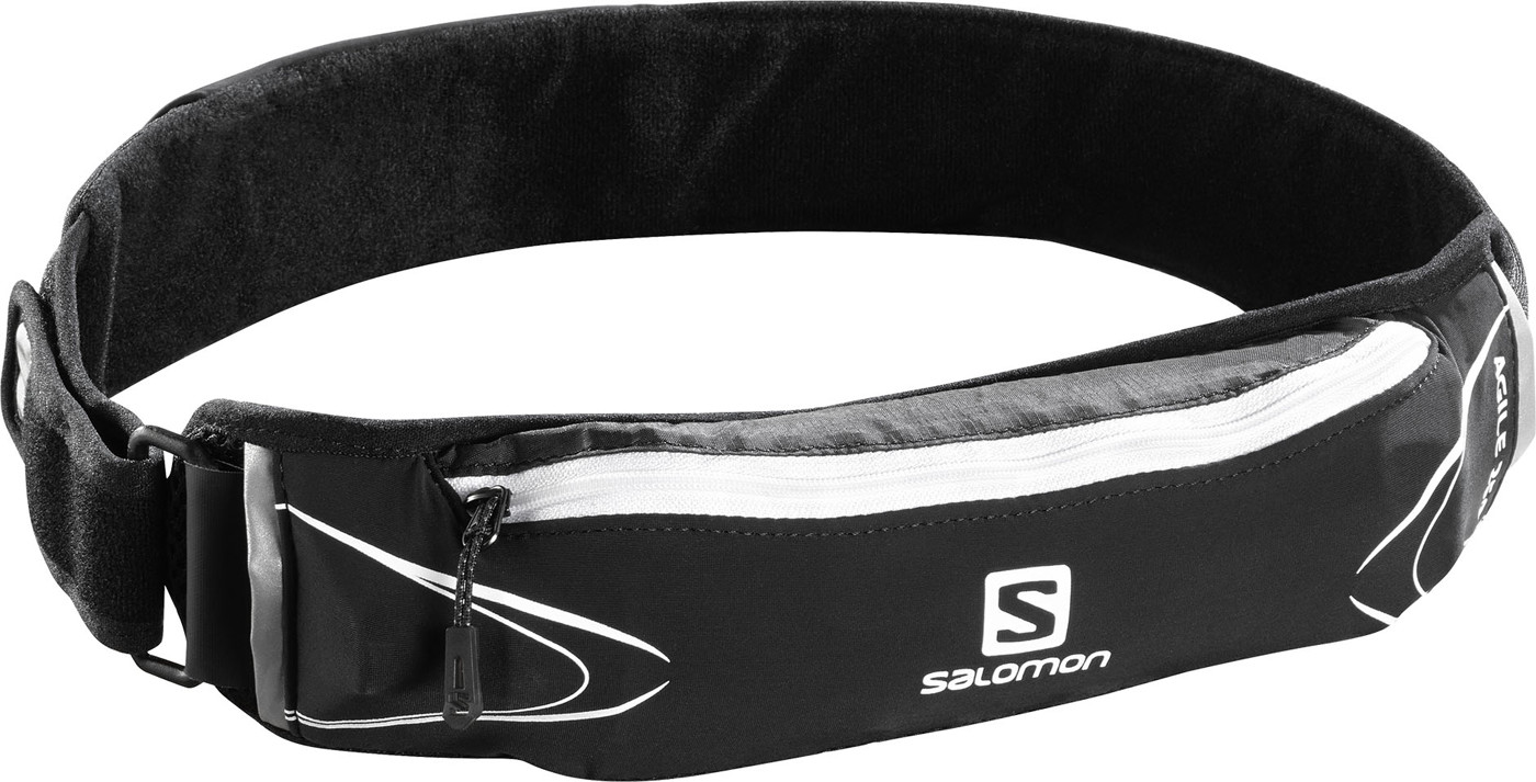 SALOMON AGILE 250 BELT SET BLACK/White