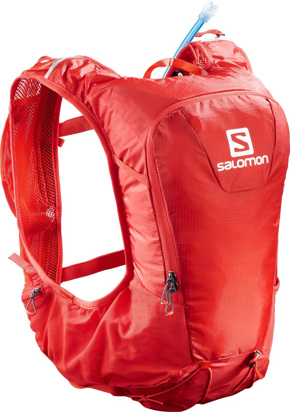 SALOMON BAG SKIN PRO 10 SET FIERY RED