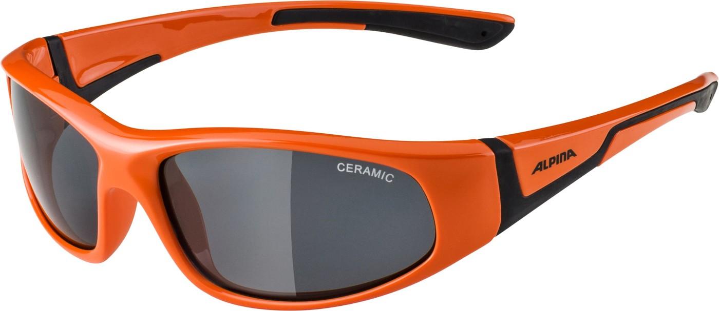 ALPINA Flexxy Junior orange-black C