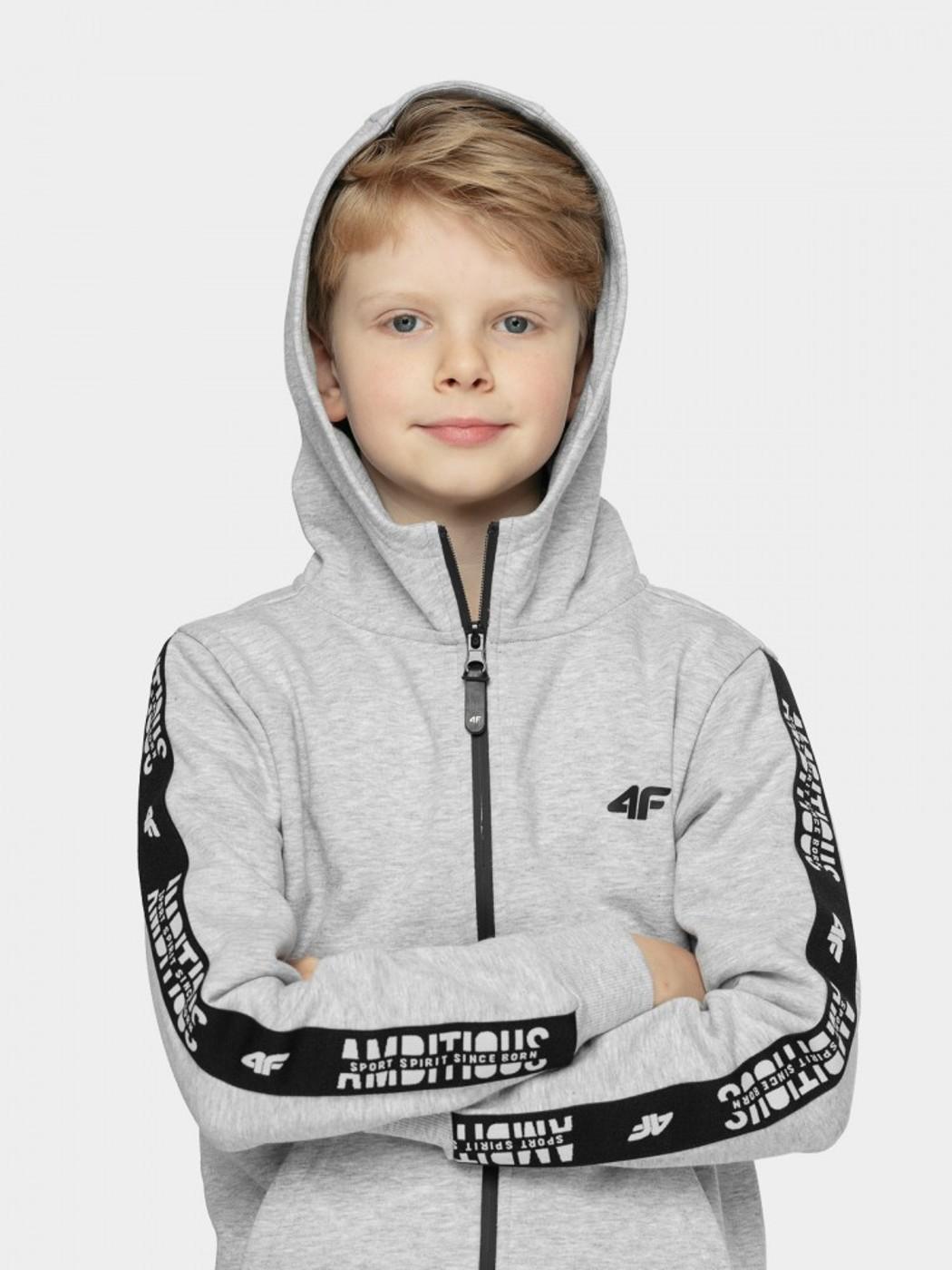 4F BOY S SWEATSHIRT JBLM003A - Kinder