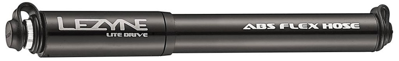 LEZYNE Minipumpe LITE DRIVE HP, schwarz, S