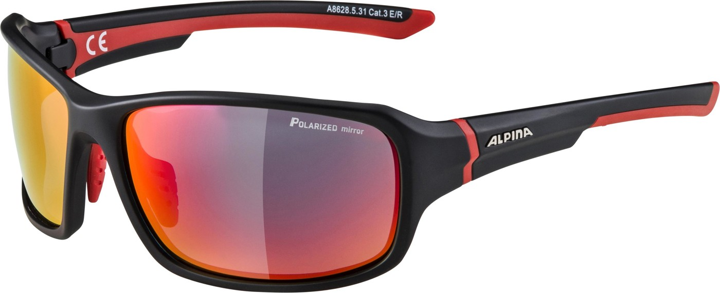 ALPINA Lyron P black m.-red PMR
