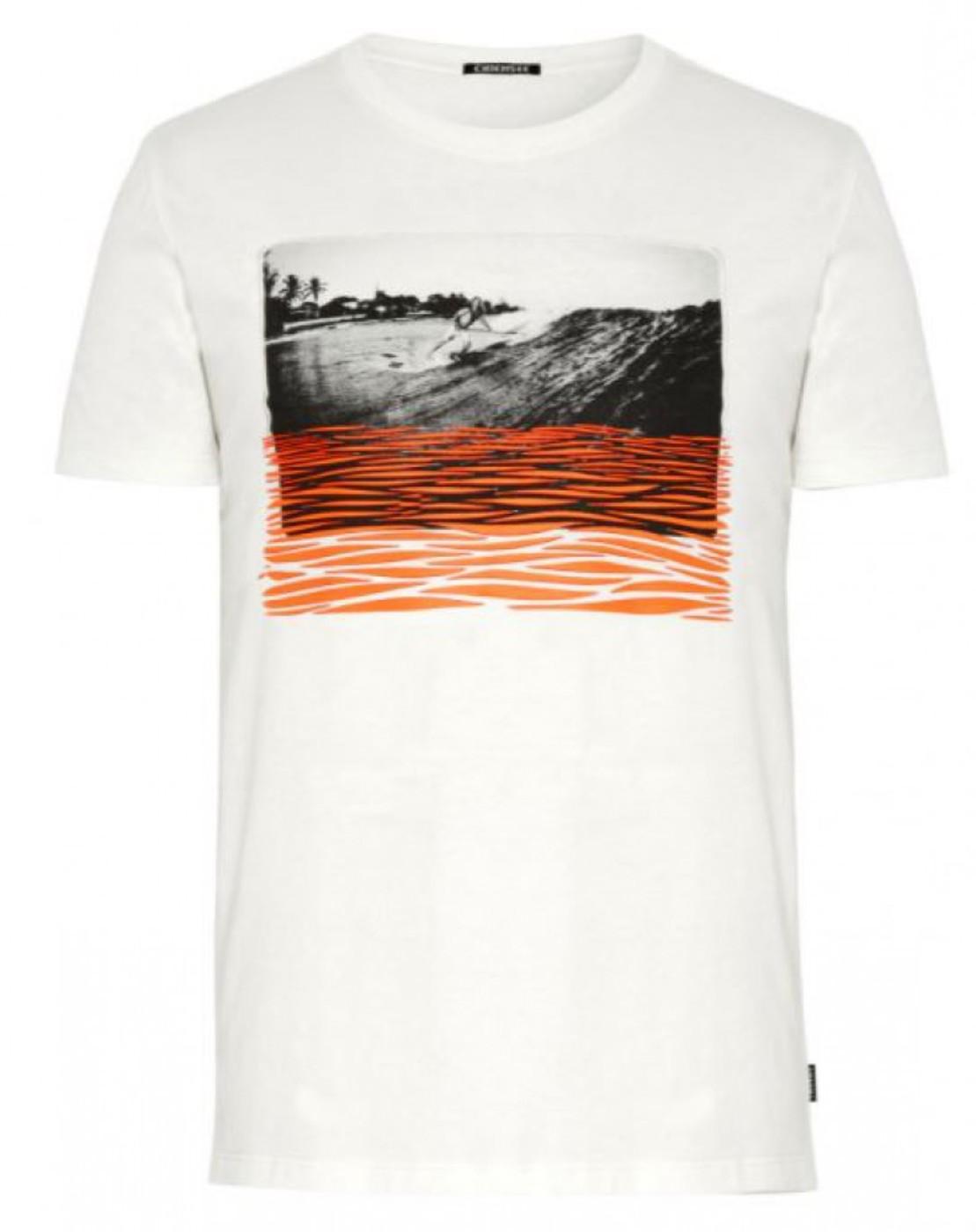 CHIEMSEE NAURU Men, T-Shirt, Regular Fi - Herren